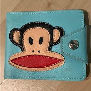 PAUL FRANK Julius the Monkey bifold wallet - Mint